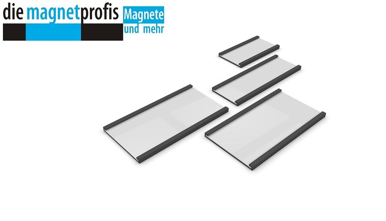 Magnetband Kennzeichnungsband wei/ß PVC magnetisches Beschriftungsband 10 m Rolle 50 mm x 1,3 mm