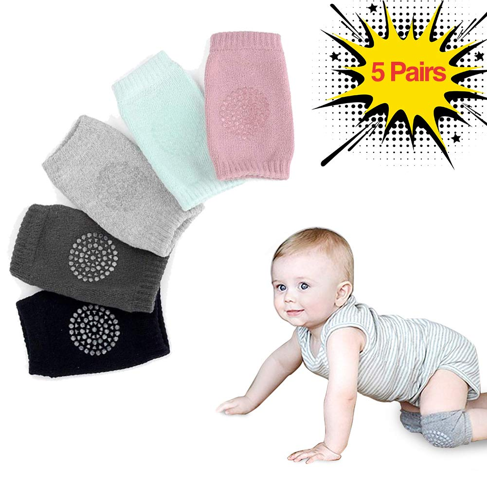 Baby Safety & Health United Baby Crawling Knee Pads Set Of 5