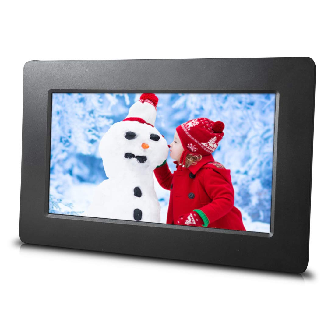 7 inch Digital Picture Frame - Simple to use - HD Screen - USB and SD Card Support - Best Frame for Slideshows