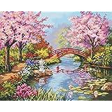 Peinture par numéro Kit 20 « X 16 »-Japanese Garden