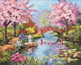 Dimensions Needlecrafts Paintworks Paint By Number, Japanese Garden (91415)