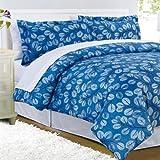 Winter Plum 8 Piece Comforter Bed In A Bag Set QUEEN