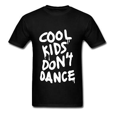 ecb26e59 Amazon.com: ZEKO Customize Men's Cool Kids Dont Dance T-Shirts Black ...