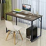 "Soges Computer Desk 47"" Sturdy Office Meeting/Training Desk Writing Desk Workstation Computer Table, Teak"