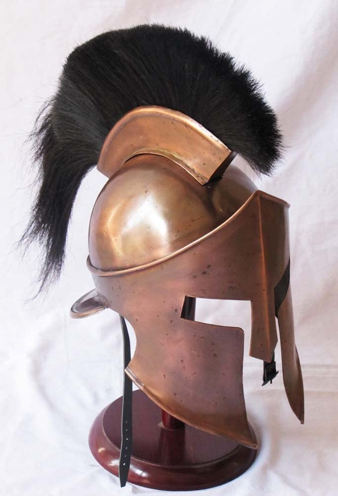 stand Medieval King Leonidas Greek 300 Spartan Armour Helmet,Halloween Costume