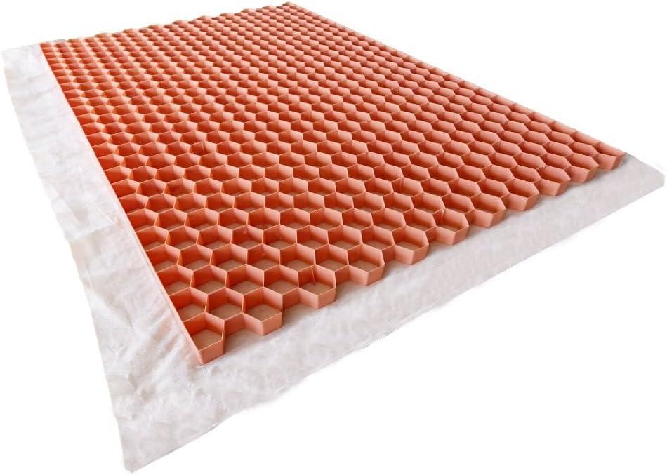 Stabilisateur de gravier 1200x800 mm Beige Nidagravel
