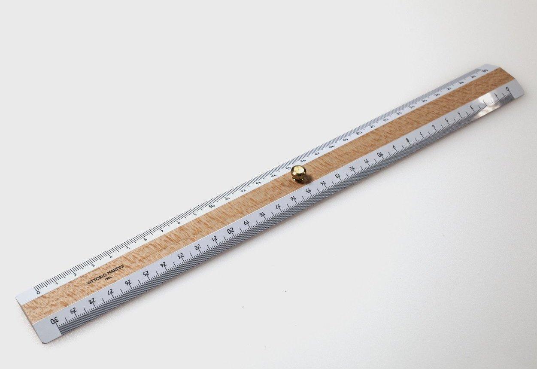 Vittorio Martini Triplo decimetro in legno, 30 cm