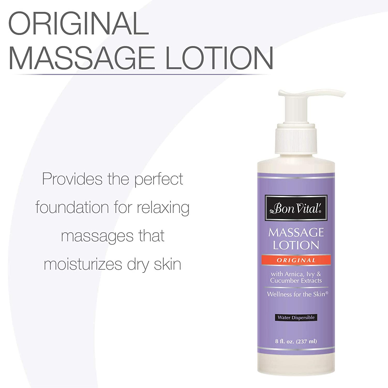 Bon Vital Original Massage Lotion for a Versatile Massage