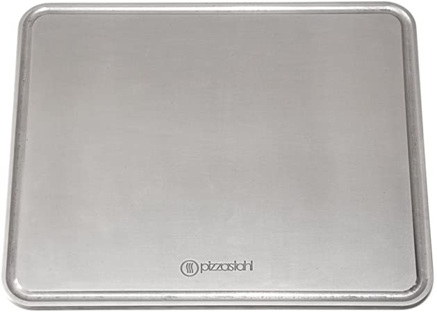 "A36 Steel PizzaFit 3//8/"" Seasoned Pizza Steel Plate 2 3//8/"" x 11/"" x 17/"""