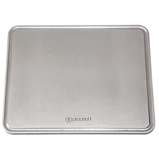 Gourmetrics Bakingsteel (Pizzastahl) 38x32 cm x 8 mm/Griddle ...