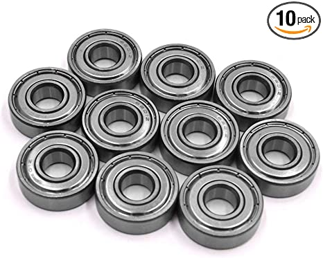 Uxcell a17060200ux0163 2Pcs 6203Z Stainless Steel Motorcycle Deep Groove Radial Ball Bearing 40 x 17 x 12mm 2 Pack