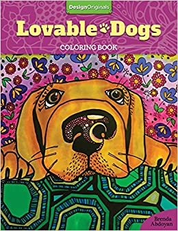 Amazon Lovable Dogs Coloring Book 9781497201675 Brenda Abdoyan Books