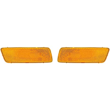Passenger Side Side Marker For Jetta 05-10 Amber Lens Front