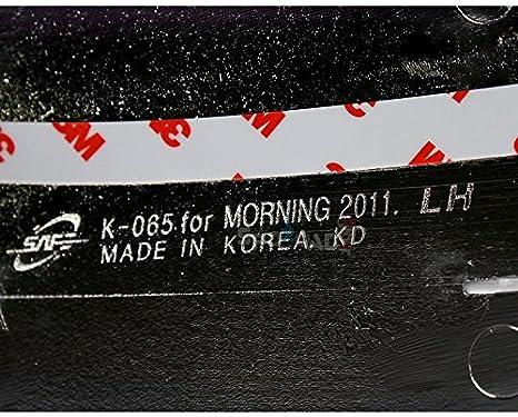 k-065 cromado espejo lateral Moldura Protector para Kia Picanto/Morning 2011 +: Amazon.es: Coche y moto