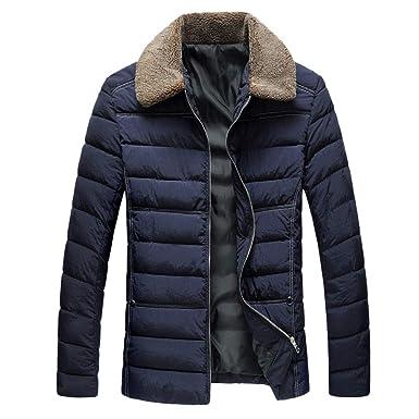 Chaqueta De Invierno Hombre Chaqueta De Pluma Hombres Abrigo De Invierno Abrigo Parka Deportiva Outwear Casual Jacket Cazadora Mangas Largas Cierre De ...