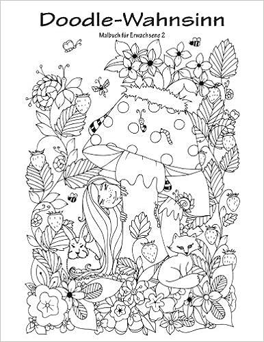 Doodle-Wahnsinn-Malbuch für Erwachsene 2: Amazon.de: Nick Snels ...
