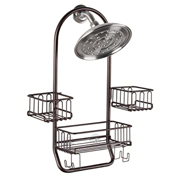 Amazon.com: InterDesign Classico Hanging Shower Caddy - Bathroom ...