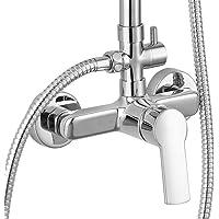 Kibath L152724 Grifo monomando para columna de ducha Combi SIO. Con maneta alargada de fácil accionamiento. Acabado…