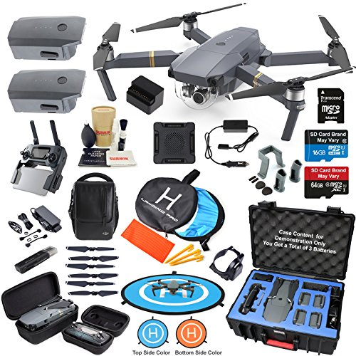 DJI Mavic PRO Drone Quadcopter Flymore Combo with 3 for sale  Delivered anywhere in USA