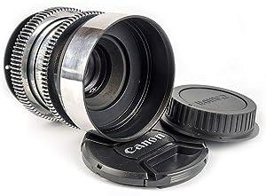 Helios 44-2 58mm F2 Anamorphic Bokeh Portrait Lens forCanon EF EosMount