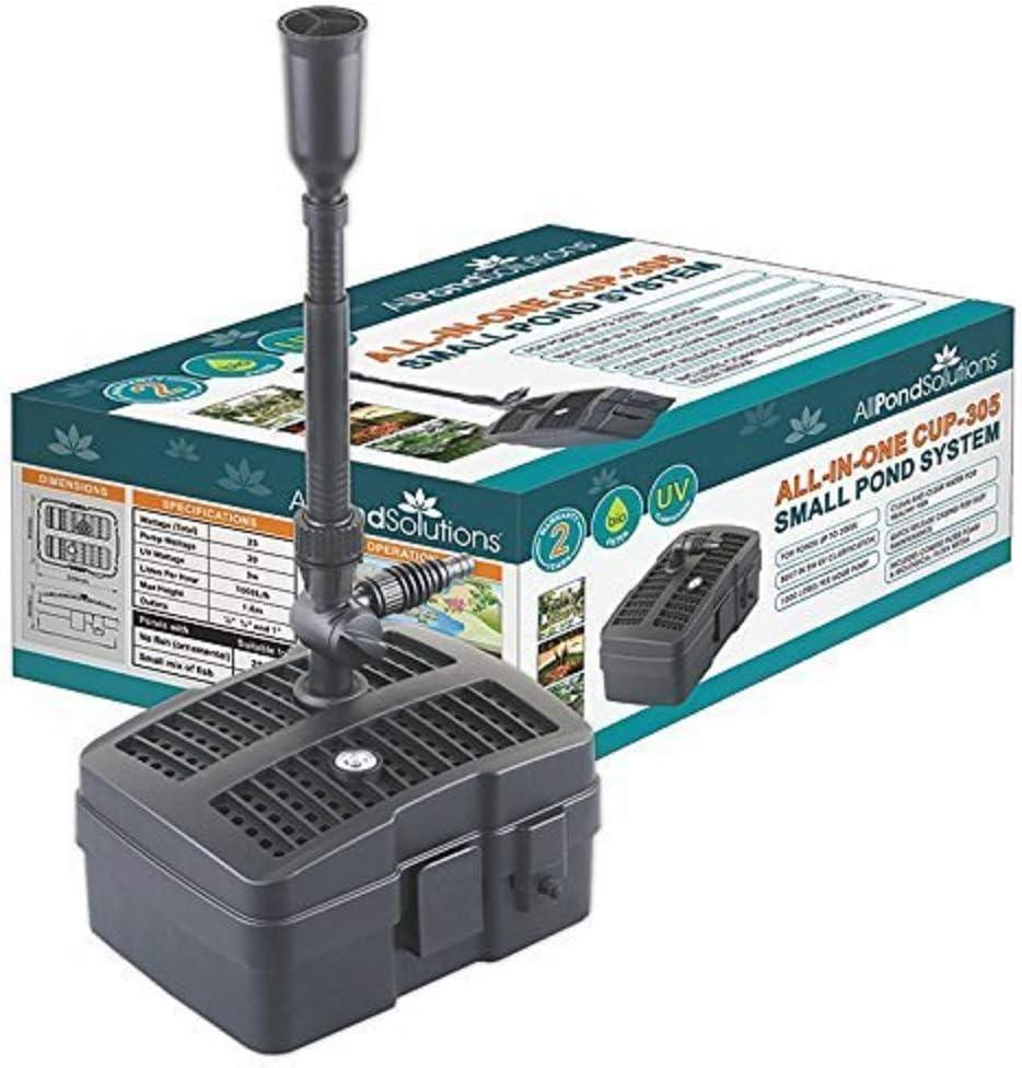 Pond filter-uv stérilisateur lampe uvc pompe de fontaine-tout en un système CUP-311