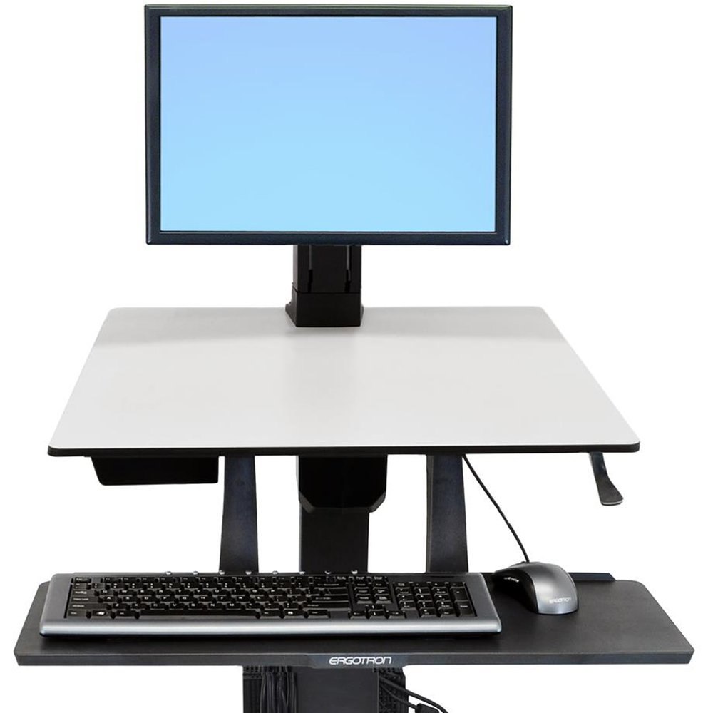 Ergotron WorkFit Single HD Monitor Kit Stand SYNNEX Canada Ltd 97-906