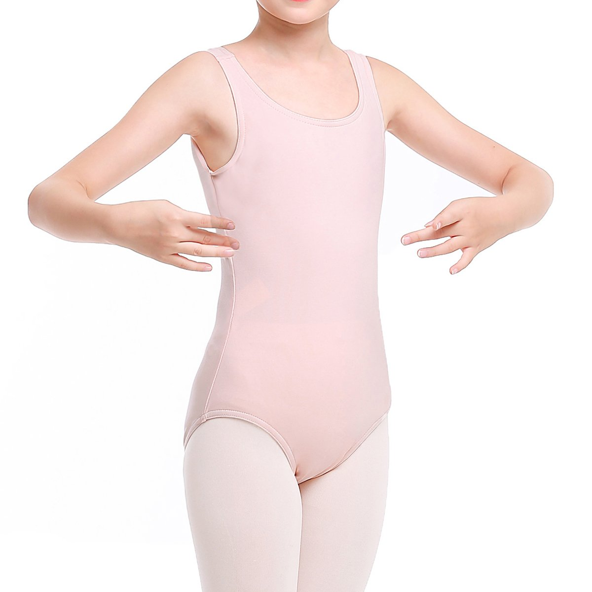 STELLE Toddler/Girl's Cotton Tank Leotard for Dance, Gymnastics and Ballet (Toddler/Little Kid/Big Kid)