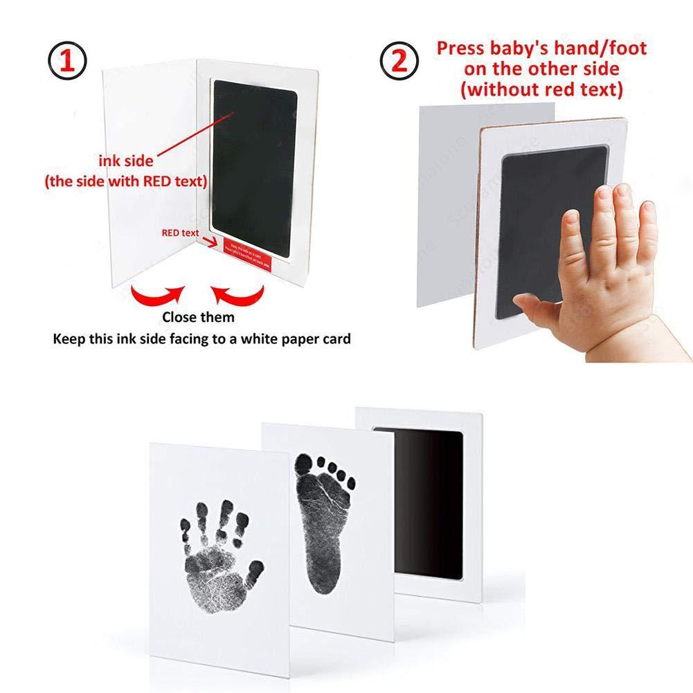 Kits de Almohadilla de Tinta No T/óxica para Estampar de Beb/é 2 PCS