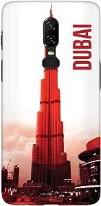 غطاء حافظة نحيف من ستايلايزد وان بلس 6 بتصميم غير لامع - دبي - البرج