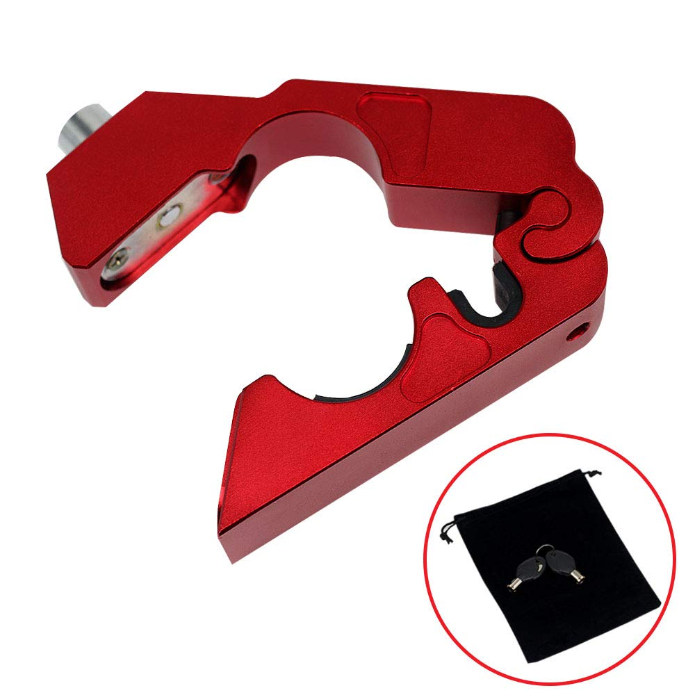 Kreatur Motorcycle Handlebar Lock Universal CNC with 2 Keys to Secure Your Motorcycle Bike ATV Moped Scooter in Under 5 Seconds by Kreatur