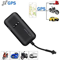 KOBWA Vehicle GPS Tracker, Real Time GPS/gsm/GPRS/SMS Global Locator Antirrobo Tracking Dispositivo para Motocicleta/Car/Bicicleta/Camión/Van/Automóvil