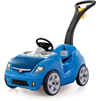 Step2 Whisper Ride II Ride On Push Car (Blue)