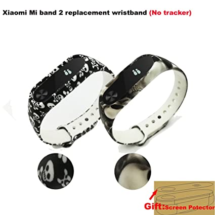 Budesi Waterproof Compatible Xiaomi Mi Fitness Tracker Bracelet  Accessories/Compatible Xiaomi Mi Band 2 Replacement Wristband Band Strap