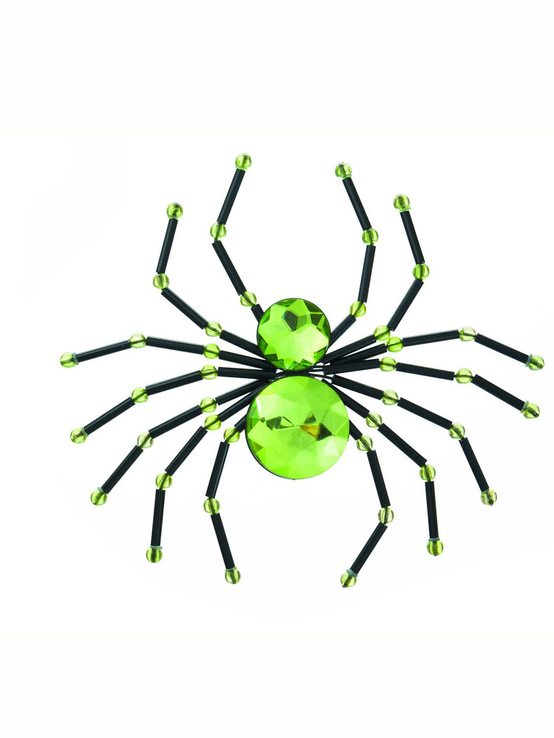 Green Spider Hair Clip by Ganz