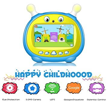 Amazon.com: Tablet infantil de 7 pulgadas Android Kids ...