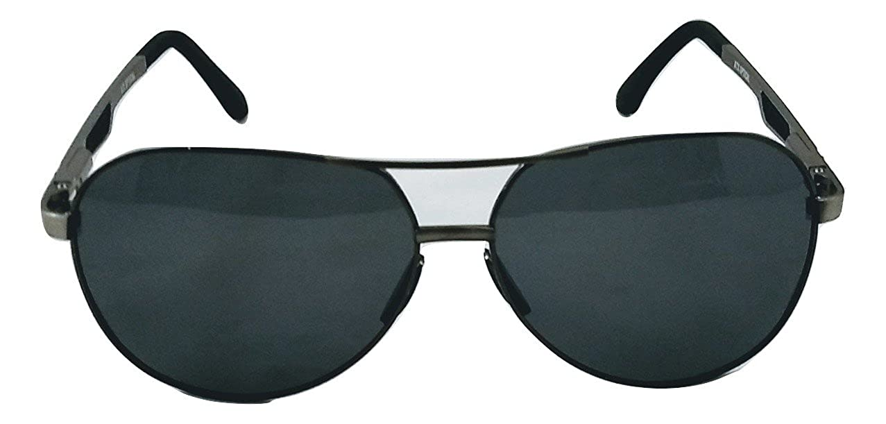 8b695d5376 Amazon.com  XXL extra large Round Aviator Polarized Sunglasses for big wide  heads 150mm (gunmetal