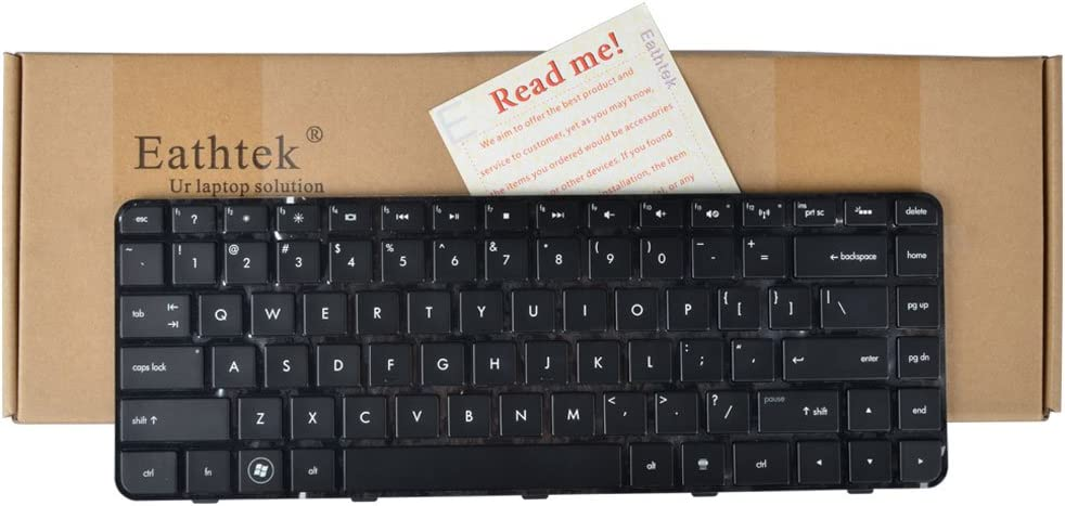 Eathtek Replacement Keyboard with Backlit and Frame for HP Pavilion DM4-2000 DM4-2015DX DM4-2100 DM4-2033CL DM4-2070US Series Black US Layout