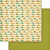 Cosmo Cricket COS68151 S'more Love Summer Vacation Double-Sided Cardstock Scrapbook Paper, 12 by 12-Inch, Multicolored, 12 Sheets Per Pack