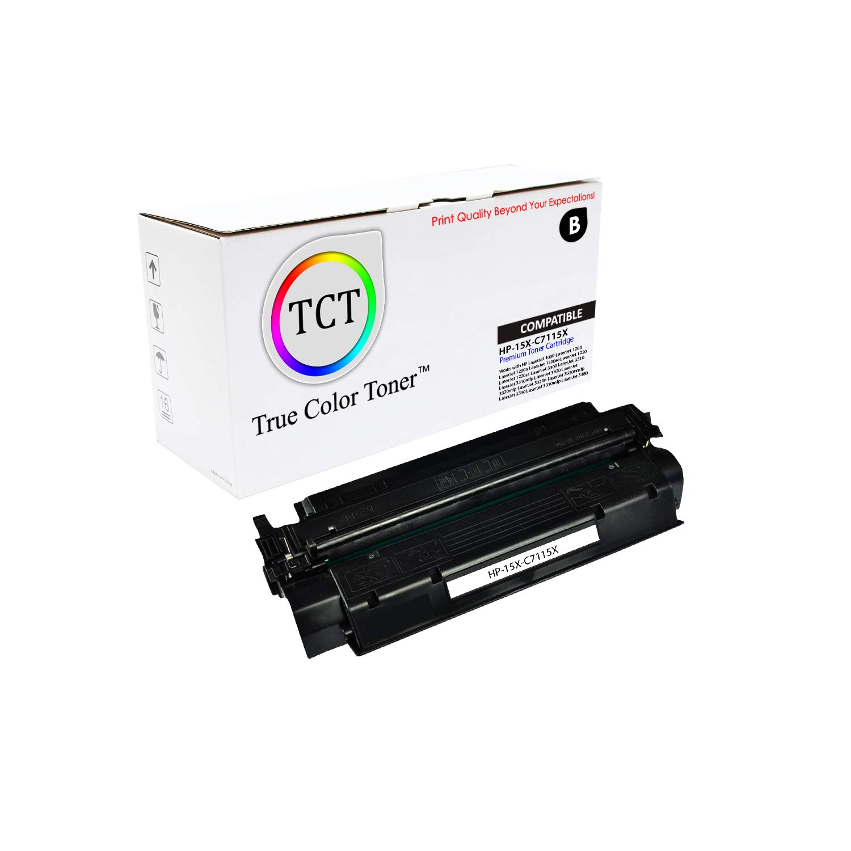 4PK Compatible C7115X HY Black Toner Cartridge for HP 1200n LaserJet 1200 12