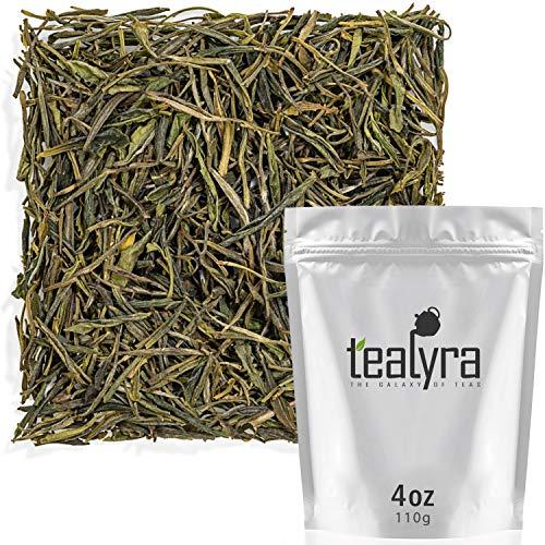 - Tealyra - Yellow Tea - Jun Shan Yin Zhen - Best Chinese Yellow Loose Leaf Tea - Antioxidants Rich - Low Caffeine - 110g (4-ounce)