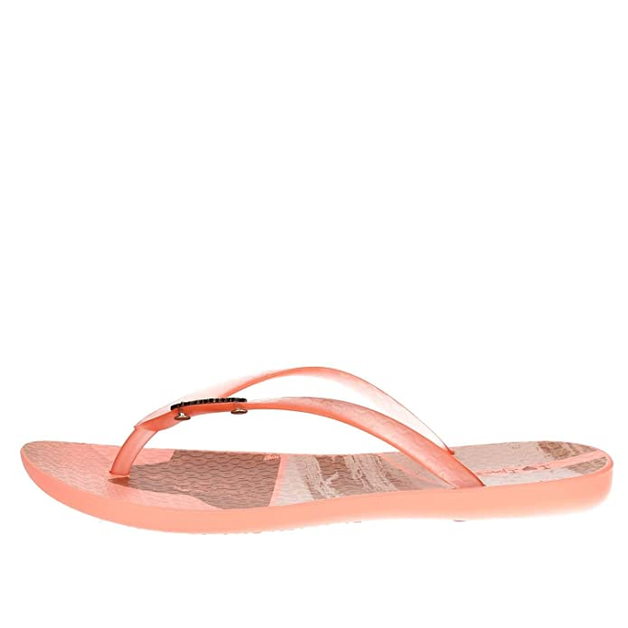Ipanema 82119 22309 Tongs Femme Orange Orange - Chaussures Tongs Femme