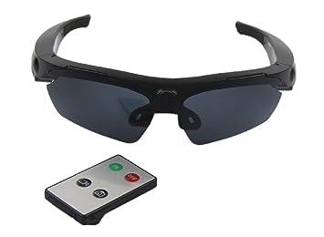 JOYCAM Gafas de sol con Cámara Grabación de Video Gafas Polarizadas HD 720P Cámara de Acción Deportiva Usable con Control Remoto: Amazon.es: Deportes y aire ...