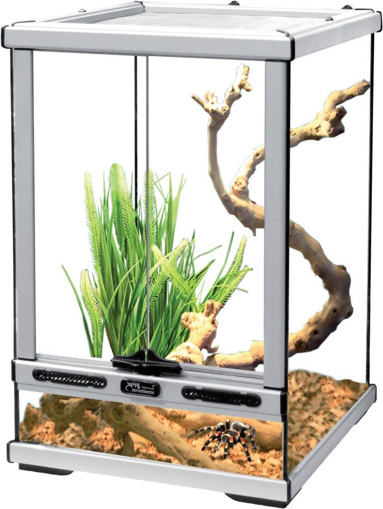 Aquatlantis terrario 30x30x45 cm grigio