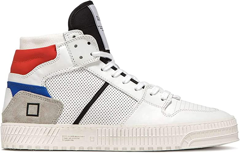 Prime Calf Sneakers - White Red