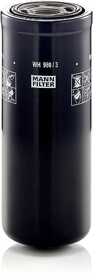Mann Filter Wh980 3 Original Mann Filter Hydraulikfilter Wh 980 3 Für Industrie Land Und Baumaschinen Auto