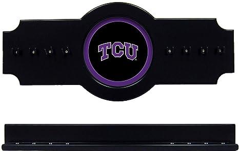 WAVE NCAA TCU tcucrr100-b 2 PC Taco de Billar Palo Soporte de ...