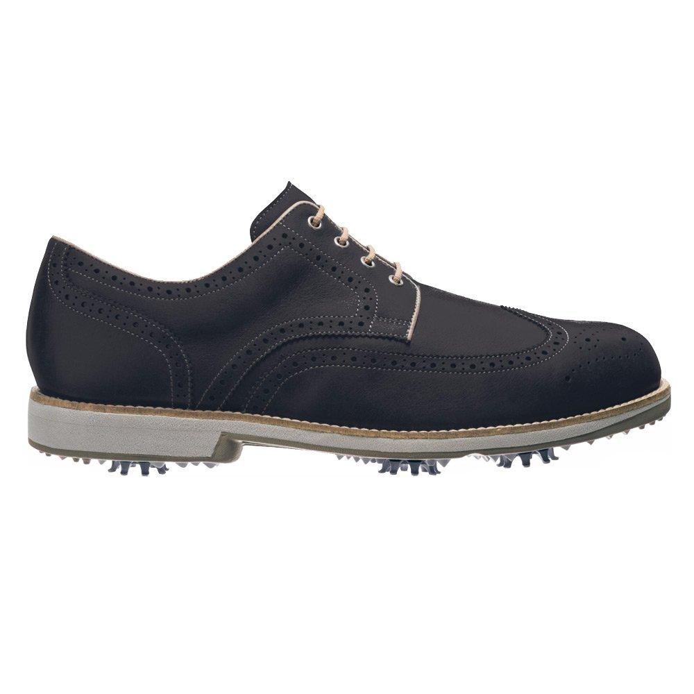 FootJoy FJ City Golf Shoes 2016 9.5 D(M) US Black/Mocha B00K613HCG