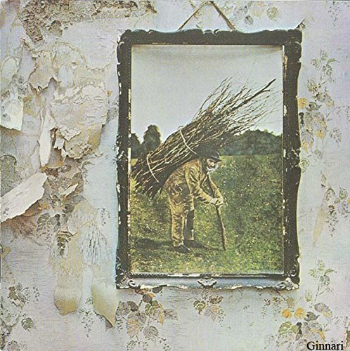 Original album cover of IV (1971, incl. 'Stairway to heaven') by Led Zeppelin