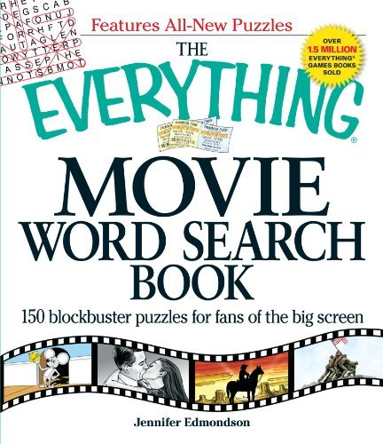 Puzzle Legends Silver Screen - The Everything Movie Word Search Book: 150 Blockbuster Puzzles for Fans of the Big Screen by Jennifer Edmondson (27-Nov-2009) Paperback