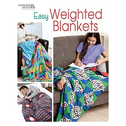 Image of Easy Weighted Blankets Leisure Arts B07C4MB6SZ Weighted Blankets